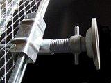 【ヘイワビルダー足場部材】 壁あてジャッキ用 踏板ホルダー